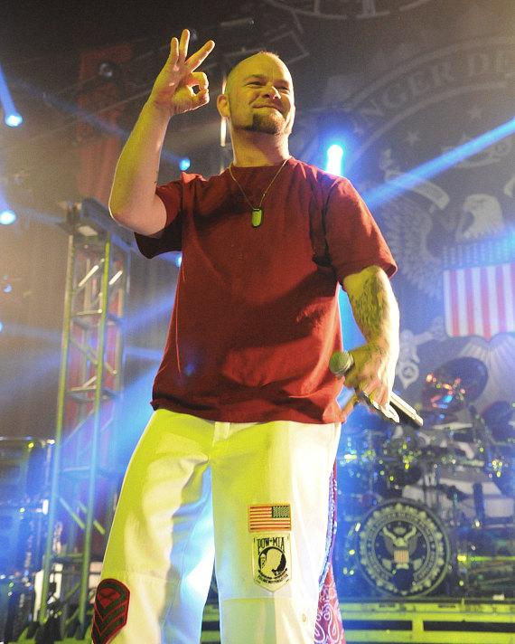 Five Finger Death Punch performs at The Joint at Hard Rock Hotel & Casino in Las Vegas