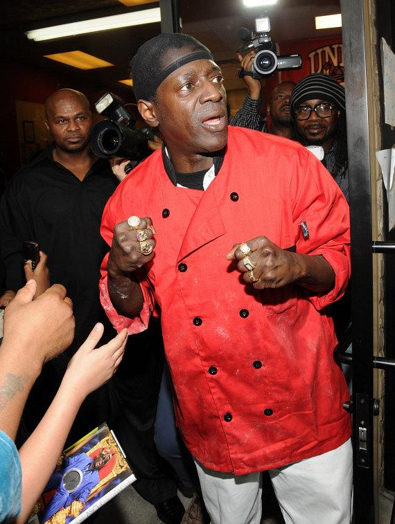 Flavor Flav at  Flavor Flav's House of Flavor