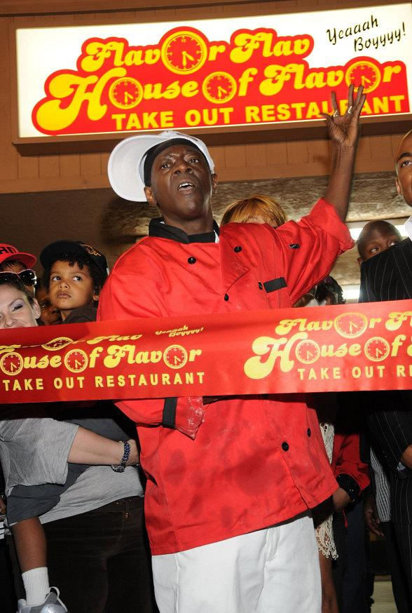 Flavor Flav's House of Flavor Opens in Las Vegas