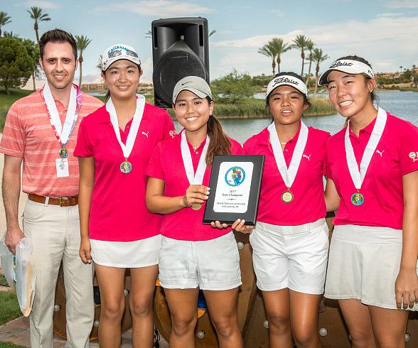 Southern California Wins Back-to-Back Girls Junior Americas Cup Titles at Reflection Bay Golf Club at Lake Las Vegas