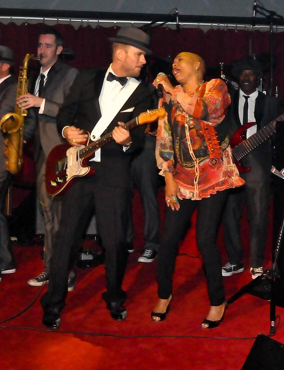 Matt Goss and Dee Dee Bridgewater