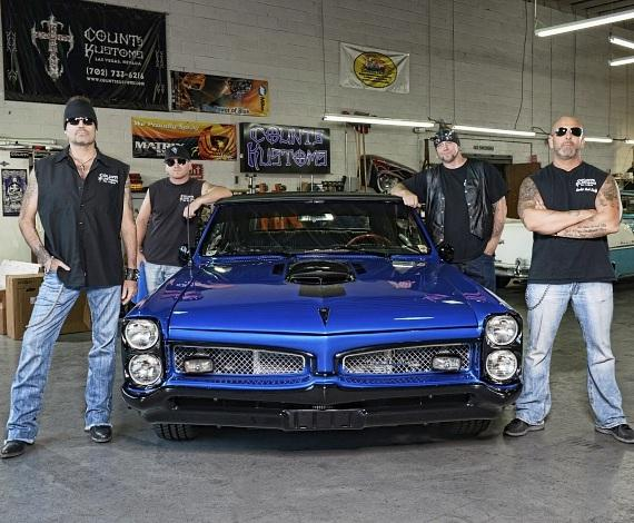 "Cast of HISTORY'S hit TV series ""Counting Cars"""