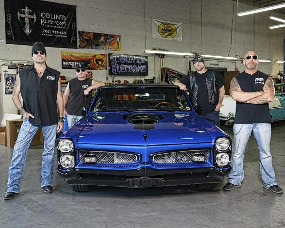 """Cast members of History's hit show """"Counting Cars"""" will walk the Black Carpet at the Grand Opening of Fright Dome"""