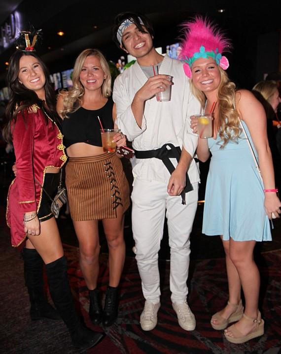 Halloween 2018 at the D Casino Hotel in Las vegas