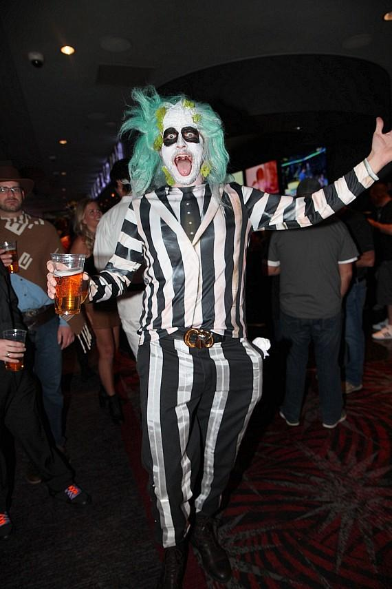 Halloween at the D Casino Hotel in Las Vegas