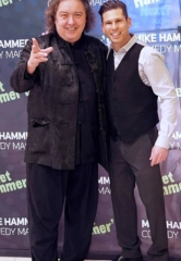 "Jeff McBride Attends ""The Mike Hammer Comedy & Magic Show"" at The Four Queens Hotel & Casino"