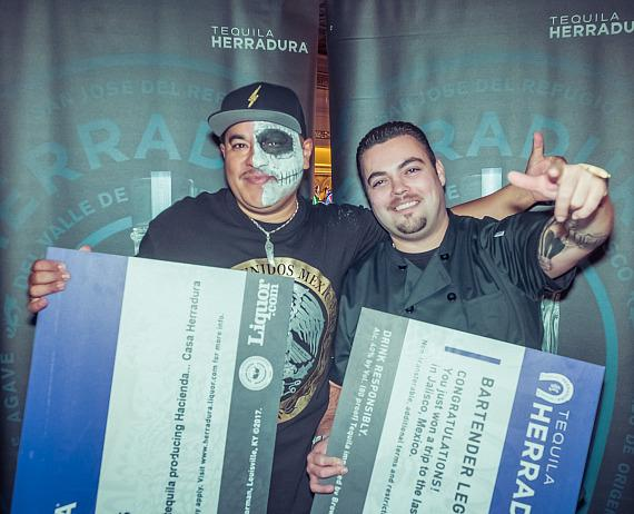 Cesar Cardona, from The Dorsey, and Dominick DeMartino, from Bound by Salvatore Calabrese, took home the grand prize