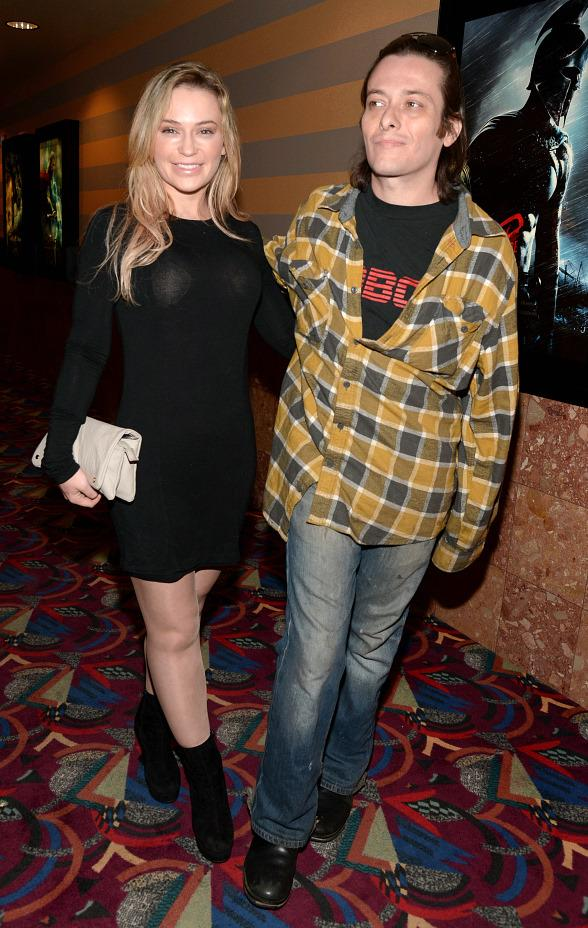 Monica Keena and Edward Furlong at Vegas Indie Film Fest