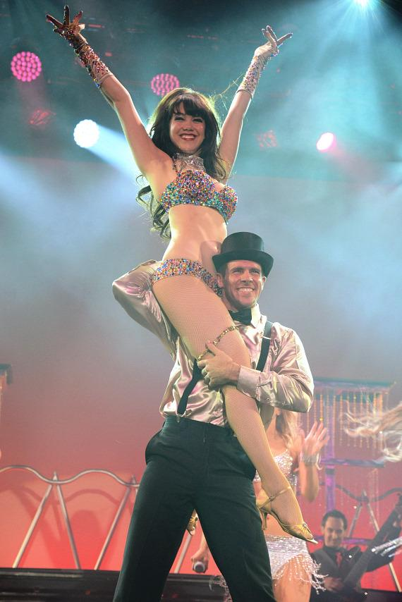 Claire Sinclair Stars in Premiere of PIN UP at The Stratosphere Casino Hotel & Tower in Las Vegas