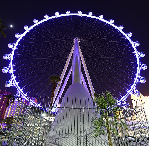 The High Roller observation wheel