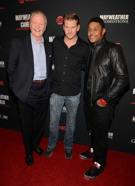 Jon Voight, Dash Mihok and Pooch Hall