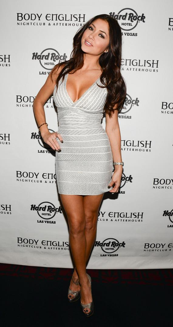 Arianny Celeste at UFC 168 After Party at Body English Nightclub in Hard Rock Las Vegas