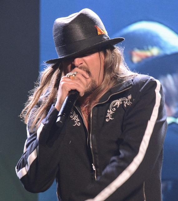 Kid Rock performs at Tiger Jam