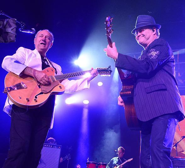 The Monkees - Micky Dolenz, Peter Tork and Michael Nesmith - Perform at Green Valley Ranch