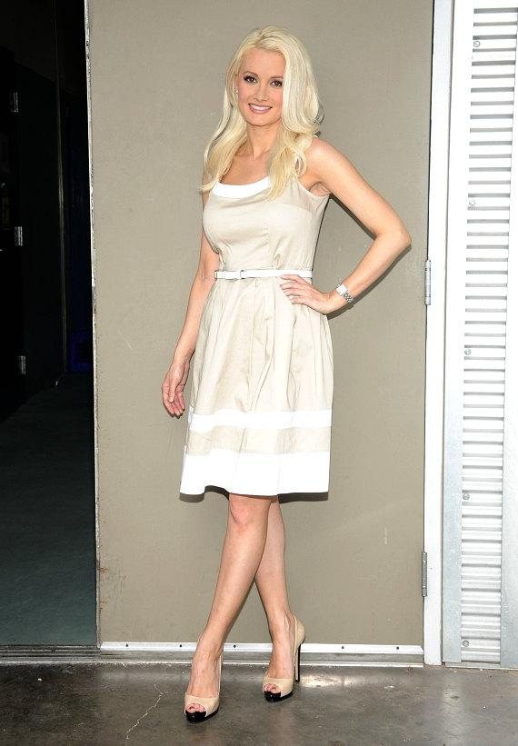 Holly Madison at The Animal Foundation