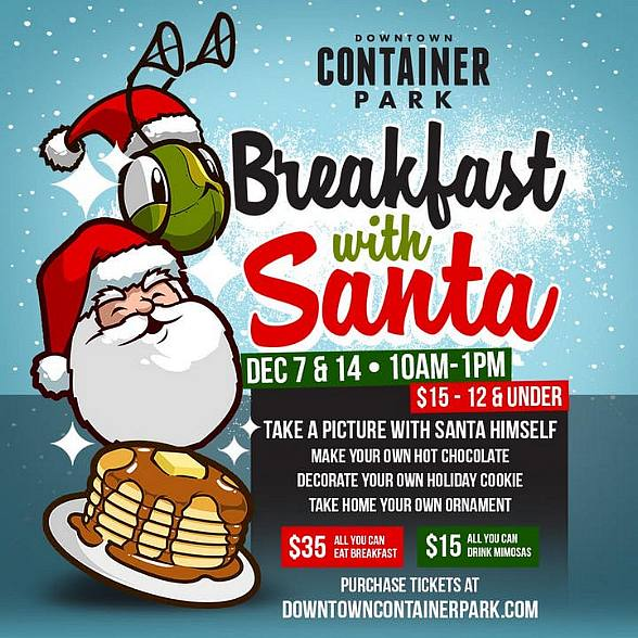 Downtown Container Park Ho-Ho-Hosts 2nd Annual Holiday Breakfast with Santa