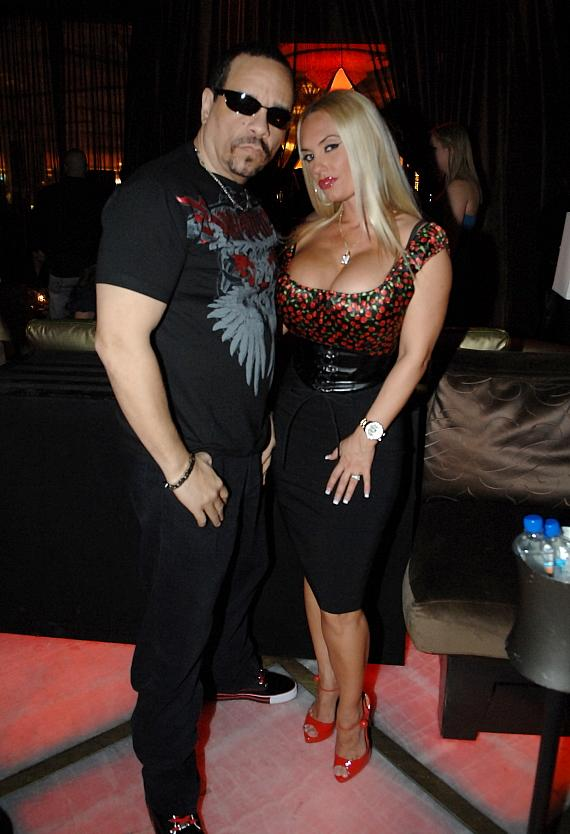 Ice T and Coco at Blush Boutique Nightclub at Wynn Las Vegas