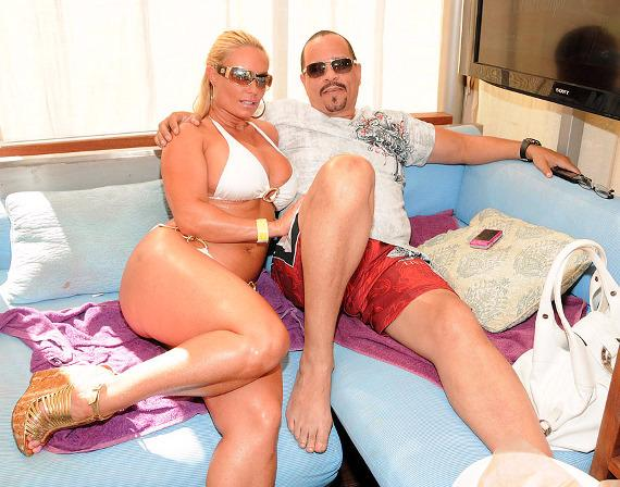 Ice T and Coco at Rehab at the Hard Rock Hotel