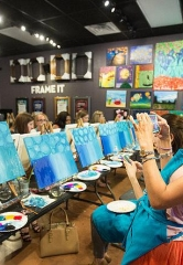 Pinot's Palette to Partner with St. Jude Children's Research Hospital for its Grand Opening Weekend at Town Square, April 7-8