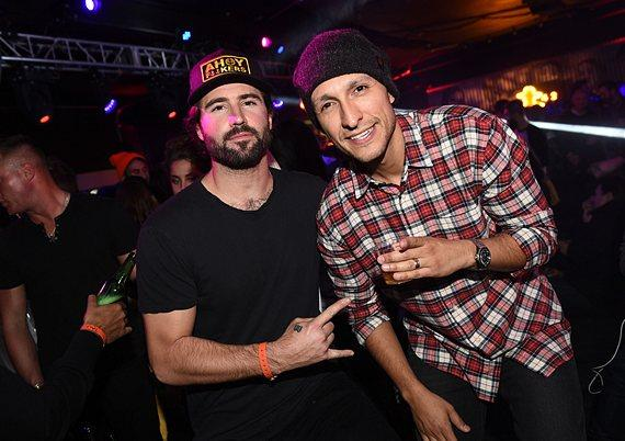 DJ pals Brody Jenner and VICE at TAO Park City at the Sundance Film Festival Presented by Tequila Don Julio on Friday, January 20, 2017.