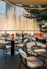 Wolfgang Puck Debuts Spago Las Vegas Overlooking Bellagio Fountains