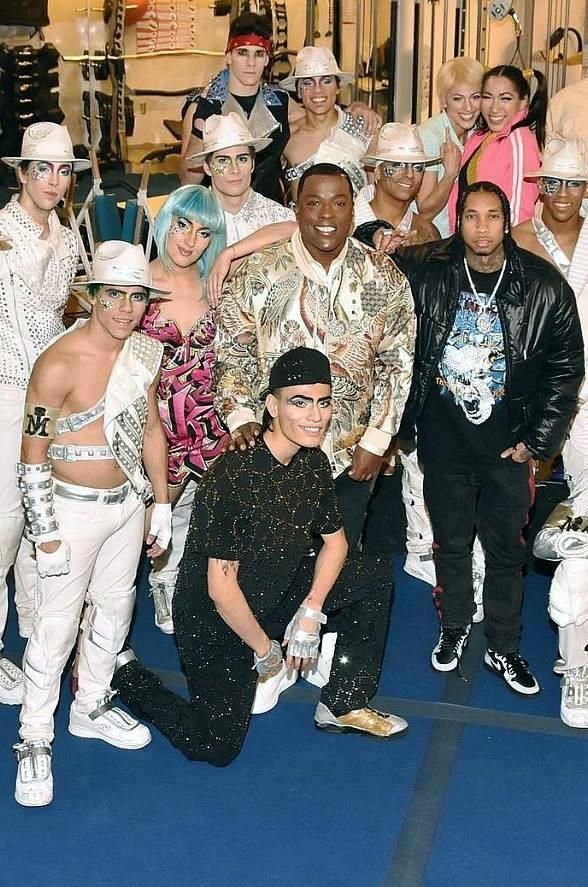 """Hip Hop Crooner Tyga Attends """"Michael Jackson ONE by Cirque du Soleil"""" at Mandalay Bay Resort and Casino"""