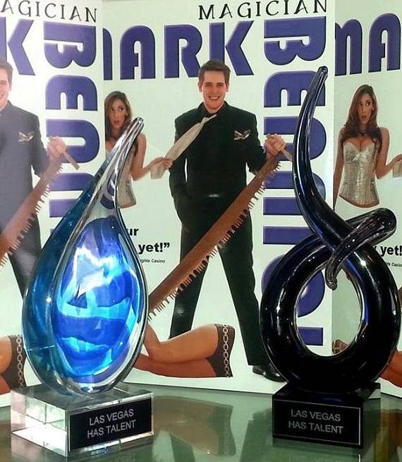 "Las Vegas Magician Mark Bennick Wins Two Trophies in Suncoast Hotel's ""Las Vegas Has Talent"" Show"