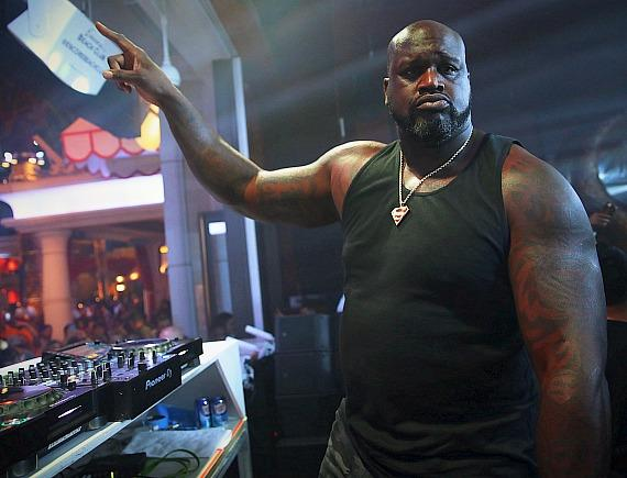 Shaquille O'Neal Makes Wynn Debut at Encore Beach Club's Nightswim; St. Louis Blues Celebrate Stanley Cup Win at XS Nightclub