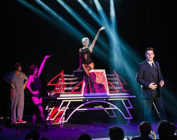 Illusionist Mark Bennick performs at Muckleshoot Casino