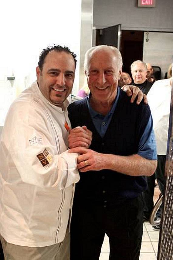 Executive Chef Barry and Fred Biletnikoff