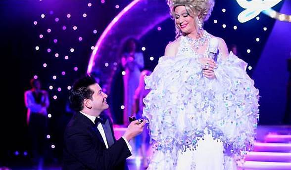 Frank Marino Surprised During Divas Performance at The Quad with Marriage Proposal Fit for a Queen