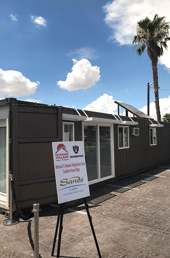 Veterans Village to Break Ground for NEW Container Housing for United States Veterans, The Village by Sands Cares, Dec. 11