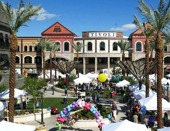 An Authentic Cinco De May Festival Hits the Streets of Tivoli Village in Las Vegas