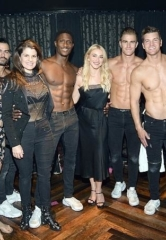 "Julianne Hough Spotted at ""Magic Mike Live"" inside the Hard Rock Hotel & Casino Las Vegas"