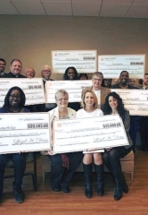 Generous Charity Donations from Dignity Health, Sunshine Nevada Organization, Escape Reality, Fingerprinting Express and The Cosmopolitan of Las Vegas