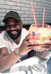 UFC Fighter Yoel Romero at Sugar Factory American Brasserie at Fashion Show Las Vegas