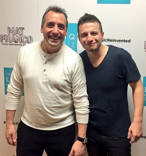 """Impractical Jokers"" star Joe Gatto attends ""Mat Franco - Magic Reinvented Nightly"" at The LINQ Hotel & Casino"