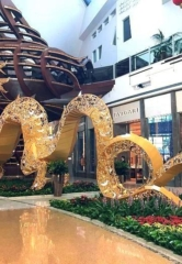 Chinese New Year 24×53 Foot Dragon at The Shops at Crystals