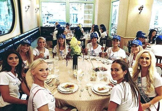 52 Mrs. America Contestants Enjoy Tivoli Village in Las Vegas
