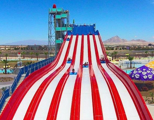 WOW - World of Wonder at Cowabunga Bay Waterpark in Las Vegas July 4