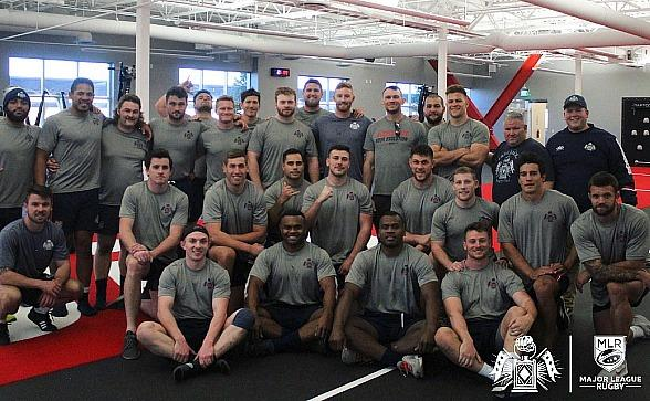 Major League Rugby Team, New England Free Jacks, Get a Tour from Forrest Griffin at UFC