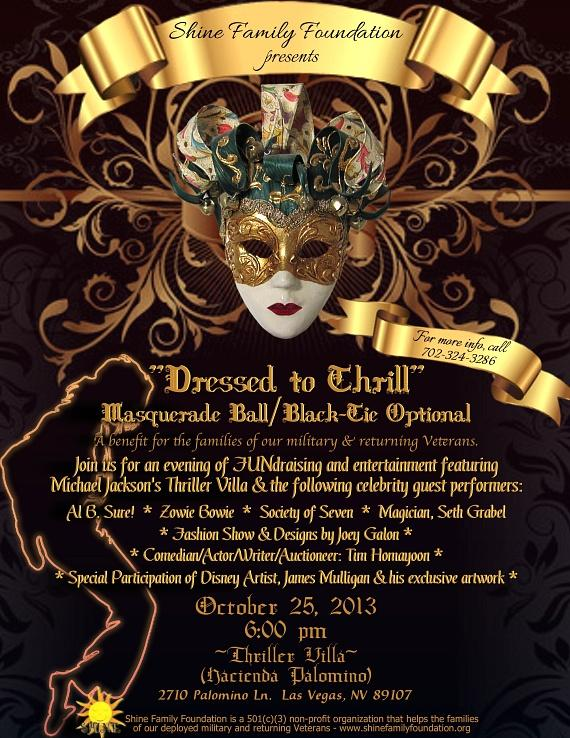 "Shine Family Foundation hosts ""Dressed To Thrill"" at The Thriller Villa"