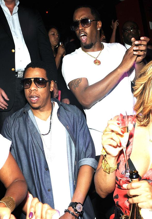 """JAY-Z and Sean """"Diddy"""" Combs"""
