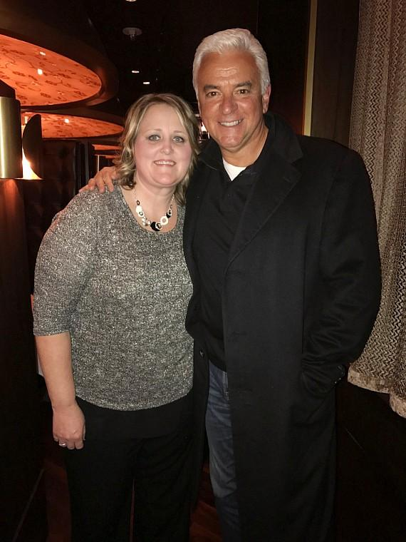 John O'Hurley with Missy Enos at Andiamo Las Vegas