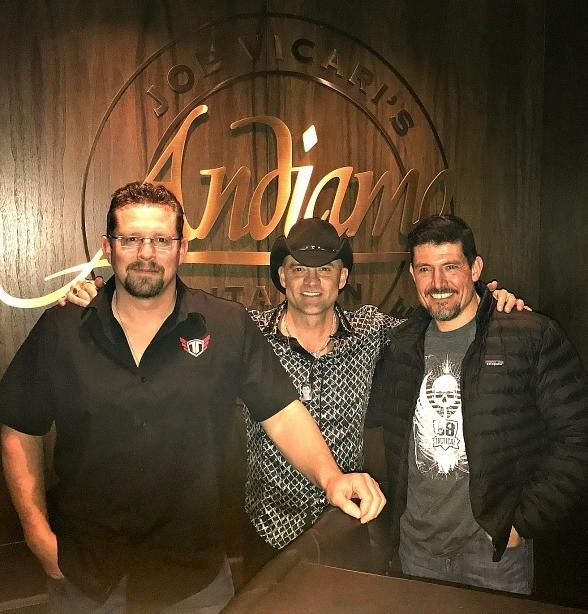 "Benghazi Heroes, Kris ""Tanto"" Paronto and John ""Tig"" Tiegen, and Country Singer, Ryan Weaver, spotted at the D Casino Hotel"