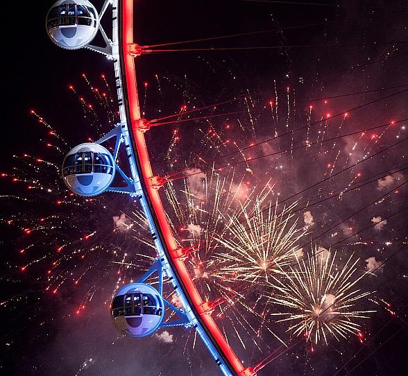 Summer and Holiday Celebrations Are Now Underway at the LINQ Promenade in Las Vegas