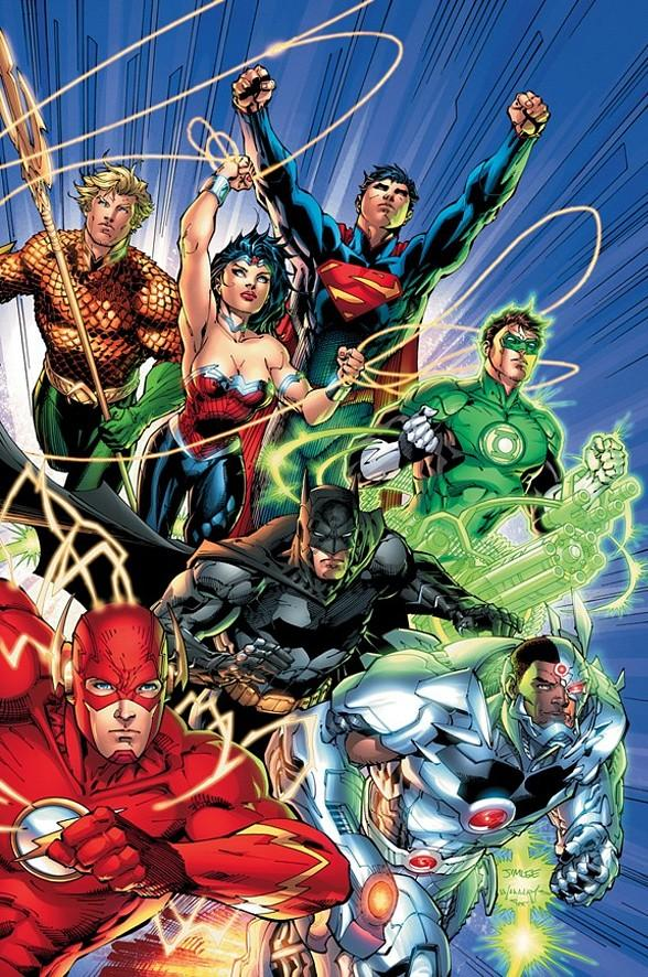 Justice League - Copyright/Trademark DC Entertainment