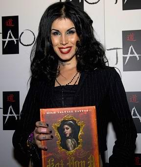 LA Ink Kat Von D Launches New Book High Voltage Tattoo at TAO Las Vegas