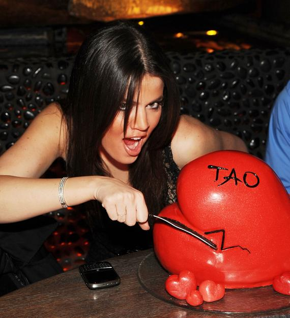 Khloe at TAO (Photo credit: Denise Truscello)