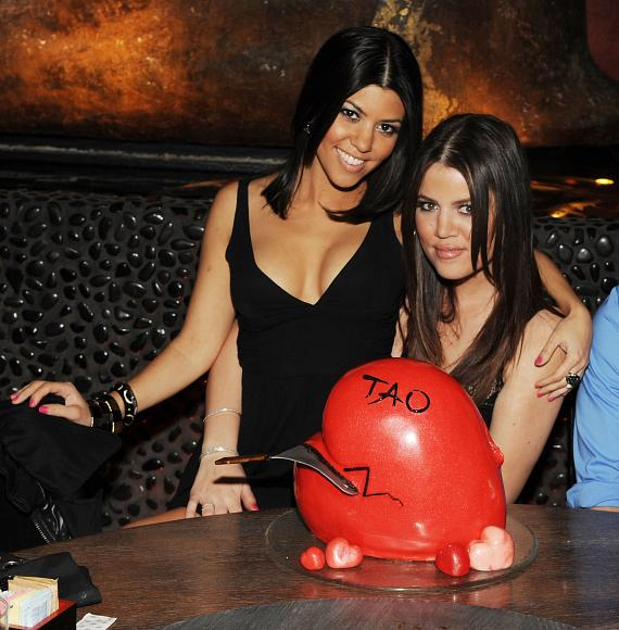 Kourtney and Khloe at TAO (Photo credit: Denise Truscello)